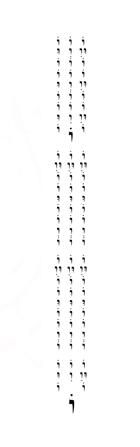 100 Sounds of the Shofar (Vav)